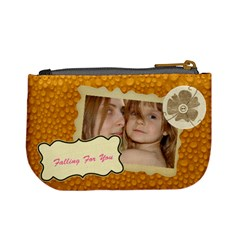 Dot  Dot Bag By Wood Johnson   Mini Coin Purse   Fj203jh21o5r   Www Artscow Com Back