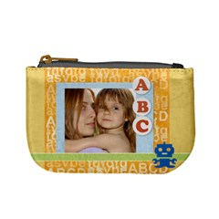 Abc Kids Bag By Wood Johnson   Mini Coin Purse   Wdofcswhki95   Www Artscow Com Front