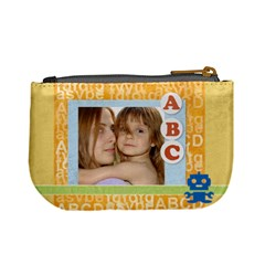 Abc Kids Bag By Wood Johnson   Mini Coin Purse   Wdofcswhki95   Www Artscow Com Back