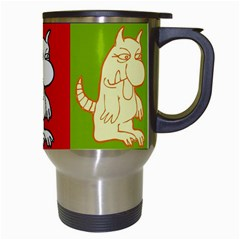 Monster 1   Travel Mug By Carmensita   Travel Mug (white)   Kqd5b01zgmt4   Www Artscow Com Right