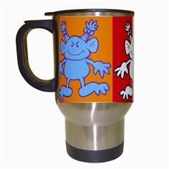 Monster 2   Travel Mug By Carmensita   Travel Mug (white)   X6wjmde62dyl   Www Artscow Com Left