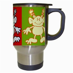 Monster 2   Travel Mug By Carmensita   Travel Mug (white)   X6wjmde62dyl   Www Artscow Com Right