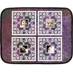 Purple Baby Lace mini fleece - Mini Fleece Blanket