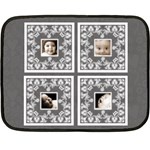 Almost black BabyLove Lace mini fleece - Fleece Blanket (Mini)