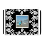 art nouveau black & white placemat - Plate Mat