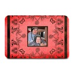 Christmas  Lace Black & Red PlaceMat  - Plate Mat