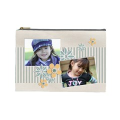 Cosmetic Bag (large)   Template By Jennyl   Cosmetic Bag (large)   Ku6man8dj668   Www Artscow Com Front