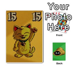 The Cat In The Sack Game By Jorge   Playing Cards 54 Designs   Ep0gxbsflvzd   Www Artscow Com Front - Heart3