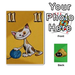 The Cat In The Sack Game By Jorge   Playing Cards 54 Designs   Ep0gxbsflvzd   Www Artscow Com Front - Heart9