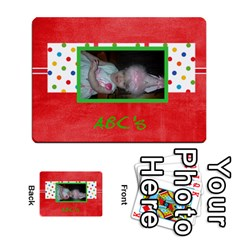 Bridgette Cards By Dominique   Playing Cards 54 Designs   Qo6uylmxb5js   Www Artscow Com Back