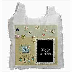 Lilcarrybaglarge1 By Lillyskite   Recycle Bag (two Side)   B2vdhiv0d0hs   Www Artscow Com Front