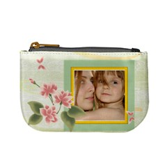 Flower Kids By Wood Johnson   Mini Coin Purse   Xgvzj21rtuzv   Www Artscow Com Front