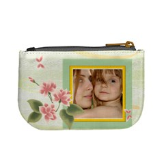 Flower Kids By Wood Johnson   Mini Coin Purse   Xgvzj21rtuzv   Www Artscow Com Back