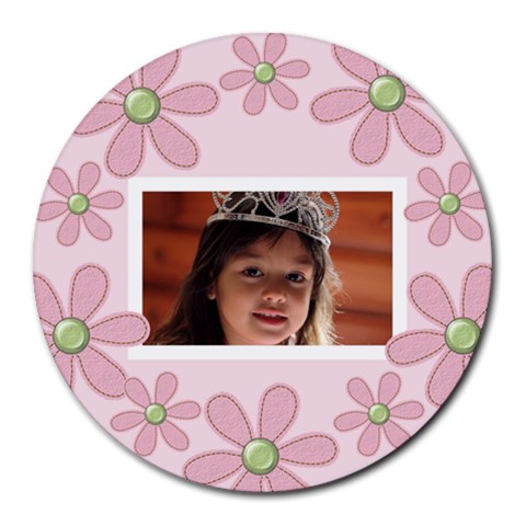 Round Mousepad By Jennyl   Round Mousepad   9bj43y5skb8w   Www Artscow Com Front