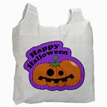 Halloween bag 04 - Recycle Bag (One Side)