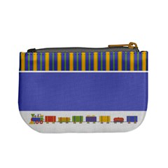 Train & Stripes Mini Coin Purse By Klh   Mini Coin Purse   130217   Www Artscow Com Back