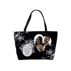 Bridesmaids Handbag By Lil    Classic Shoulder Handbag   N66ndfxbdegz   Www Artscow Com Back