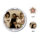 Round family cards - Playing Cards (Round)