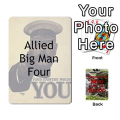Mud And Blood Cards Pt I By Adrian Jarvis   Playing Cards 54 Designs   U5vx47bsbbkc   Www Artscow Com Front - Spade5
