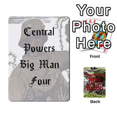 Mud And Blood Central Powers By Adrian Jarvis   Playing Cards 54 Designs   9u9gzhdkmn4x   Www Artscow Com Front - Spade5