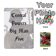 Mud And Blood Central Powers By Adrian Jarvis   Playing Cards 54 Designs   9u9gzhdkmn4x   Www Artscow Com Front - Spade6