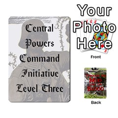 Mud And Blood Central Powers By Adrian Jarvis   Playing Cards 54 Designs   9u9gzhdkmn4x   Www Artscow Com Front - Club4