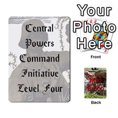 Mud And Blood Central Powers By Adrian Jarvis   Playing Cards 54 Designs   9u9gzhdkmn4x   Www Artscow Com Front - Club5