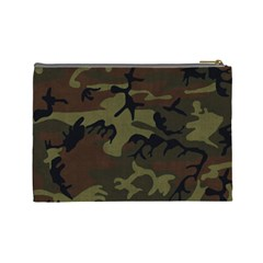 Cosmetic Bag L   My Hero Camo By Jen   Cosmetic Bag (large)   Ytuf5qpb21a4   Www Artscow Com Back