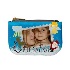 Xmas Bag By Wood Johnson   Mini Coin Purse   Nvc74lwkq55m   Www Artscow Com Front