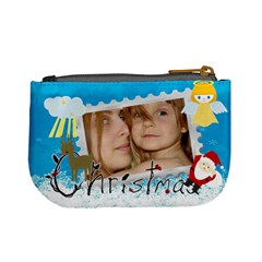 Xmas Bag By Wood Johnson   Mini Coin Purse   Nvc74lwkq55m   Www Artscow Com Back