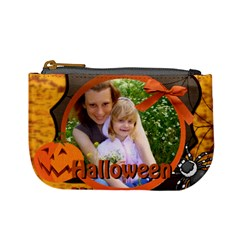 Halloween Bag By Joely   Mini Coin Purse   D26xu8c899ij   Www Artscow Com Front