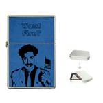 Want fire Borat lighter - Flip Top Lighter