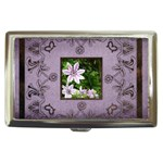 classic lavendar cigarette money case