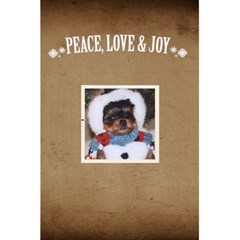 Jorge Christmas Notebook By Jorge   5 5  X 8 5  Notebook   Cb6z2bfqz1dg   Www Artscow Com Back Cover