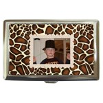 funky giraffe cigarette money case