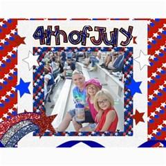 12 Month 2019 Calendar Template  Holidays By Danielle Christiansen   Wall Calendar 11  X 8 5  (12 Months)   J99mo33hgxt3   Www Artscow Com Month