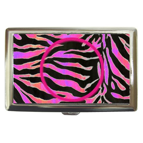 Psychadelic Zebra Cigarette Money Case  By Catvinnat   Cigarette Money Case   B82ned993f7b   Www Artscow Com Front
