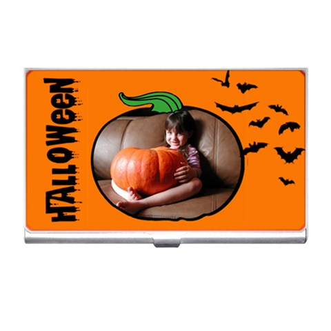Halloween    Business Card Holder By Carmensita   Business Card Holder   X6dorua2p59t   Www Artscow Com Front