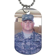 Son Dog Tag By Jessica Bolden   Dog Tag (two Sides)   O57v7rks4g1y   Www Artscow Com Front