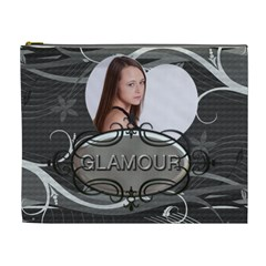Glamour Xl Cosmetic Bag By Lil    Cosmetic Bag (xl)   Zsu45zbvqxtf   Www Artscow Com Front