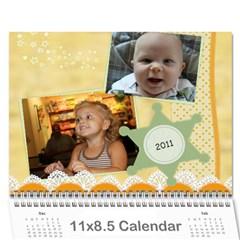 Nancy s Calendar By Amanda Davis   Wall Calendar 11  X 8 5  (12 Months)   7oxtcdn4flgm   Www Artscow Com Cover