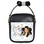 Floral Nature Girls Sling Bag