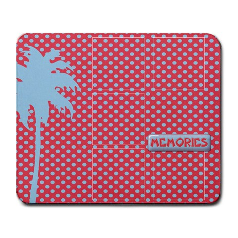 Palm Tree Mousepad By Mikki   Large Mousepad   Ffk6lgpghw45   Www Artscow Com Front