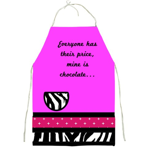 Apron Pink By Jorge   Full Print Apron   S6fygpgs02s7   Www Artscow Com Front