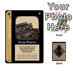 Rummy Jack The Ripper 1 By Jorge   Playing Cards 54 Designs   V0vqestpmj7o   Www Artscow Com Front - Spade2