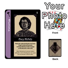 Queen Rummy Jack The Ripper 1 By Jorge   Playing Cards 54 Designs   V0vqestpmj7o   Www Artscow Com Front - SpadeQ