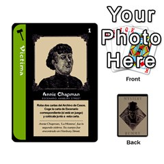 King Rummy Jack The Ripper 1 By Jorge   Playing Cards 54 Designs   V0vqestpmj7o   Www Artscow Com Front - SpadeK