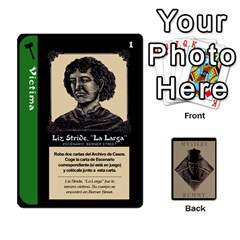 Rummy Jack The Ripper 1 By Jorge   Playing Cards 54 Designs   V0vqestpmj7o   Www Artscow Com Front - Heart2