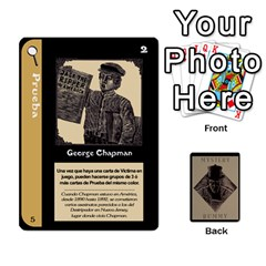 Rummy Jack The Ripper 1 By Jorge   Playing Cards 54 Designs   V0vqestpmj7o   Www Artscow Com Front - Heart4