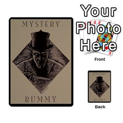 Rummy Jack The Ripper 1 By Jorge   Playing Cards 54 Designs   V0vqestpmj7o   Www Artscow Com Back
